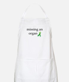 Missing An Organ Apron
