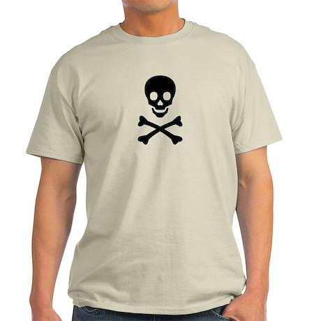 Skull and Crossbones Light T-Shirt