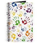 Paint Hand Print Journal