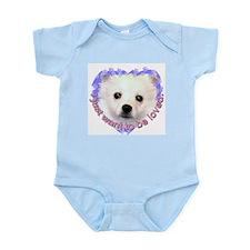 American Eskimo Dog Infant Creeper