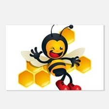 Bumble Bee Postcards (Package of 8)