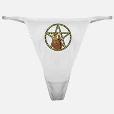 vines Pentagram Owl Classic Thong
