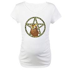 vines Pentagram Owl Shirt