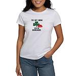 I'M NOT IRISH KISS ME ANYWAYS Women's T-Shirt