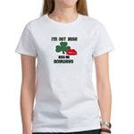 I'M NOT IRISH KISS ME ANYWAYS Women's T-Shirt