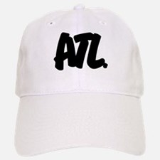 ATL Brushed Baseball Baseball Cap