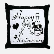 Cute Wedding 5 Throw Pillow