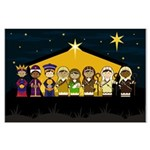 Adorably Cute Nativity Poster (Large)