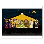 Adorably Cute Nativity Poster (Small)