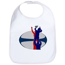 rugby line-out Bib