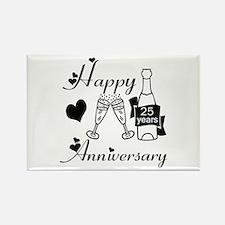 Cute Wedding anniversary Rectangle Magnet