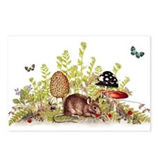 Woodland Mouse Postcards (Package of 8)