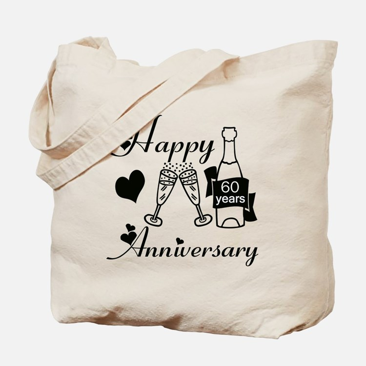 Cute Just married 60 years ago Tote Bag