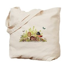 Woodland Mouse Tote Bag