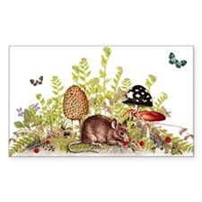 Woodland Mouse Decal