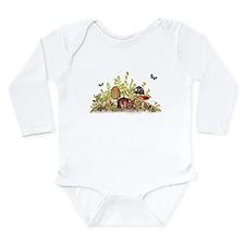 Woodland Mouse Long Sleeve Infant Bodysuit