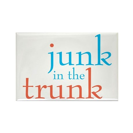 Junk in the Trunk/Lady Lumps Rectangle Magnet (10