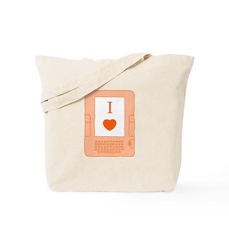 i heart ebooks Tote Bag