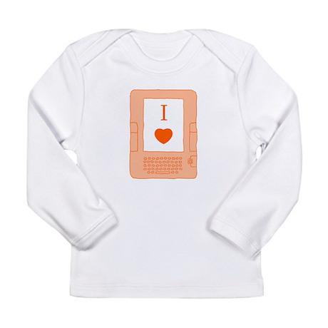 i heart ebooks Long Sleeve Infant T-Shirt