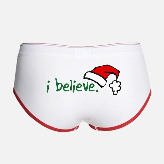 i believe. Women's Boy Brief