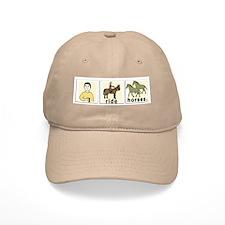 I Ride Horses Baseball Cap