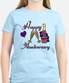 Cute 35th wedding anniversary T-Shirt