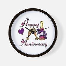 Wedding anniversaries Wall Clock
