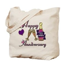 Unique 50th anniversary Tote Bag