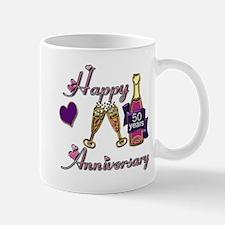 Unique 50th wedding anniversary Mug