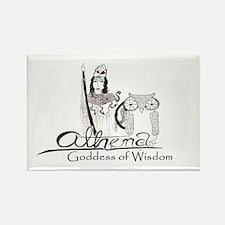 Athena: Goddess of Wisdom Rectangle Magnet