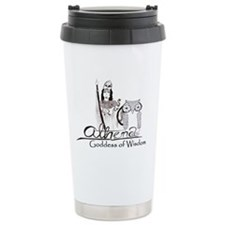 Athena: Goddess of Wisdom Travel Mug