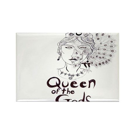 Queen of the Gods Rectangle Magnet (100 pack)