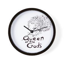 Queen of the Gods Wall Clock