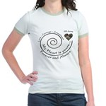 ARMY Love Courage Commitment Jr. Ringer T-Shirt