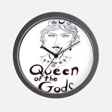 Queen of the Gods (w/o peacoc Wall Clock