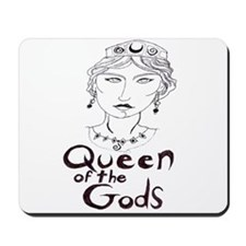 Queen of the Gods (w/o peacoc Mousepad