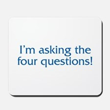 The Four Questions Mousepad