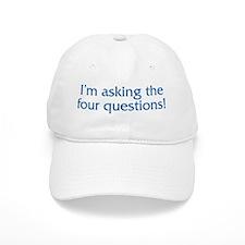 The Four Questions Baseball Cap