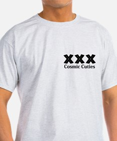 Cosmic Cuties Logo 12 T-Shirt Design Front P