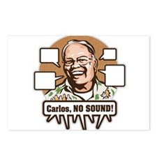 Carlos, NO SOUND Postcards (Package of 8)