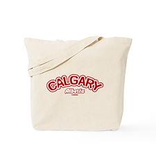 Calgary Leaf Tote Bag