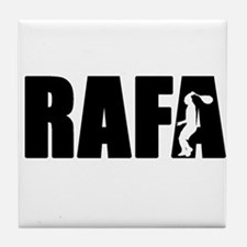 Cute Rafa Tile Coaster