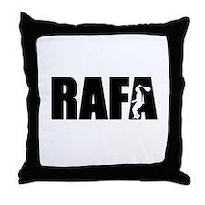 Unique Tennis rafa Throw Pillow