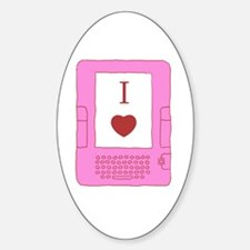 i heart ebooks Decal