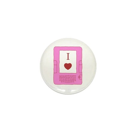 i heart ebooks Mini Button (100 pack)