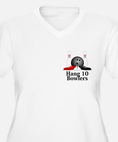 Hang 10 Bowlers Logo 15 T-Shirt
