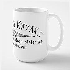 Black Dog Kayak Mug