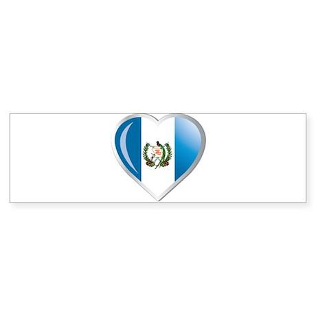 GUATEMALA Sticker (Bumper)