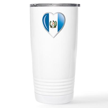 GUATEMALA Stainless Steel Travel Mug