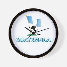 GUATEMALA Wall Clock